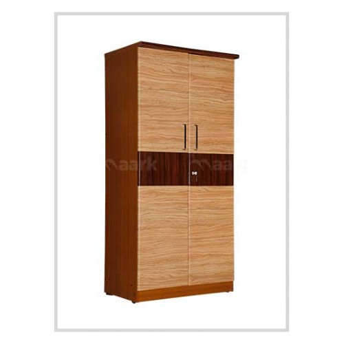 Wooden Sandal Two Door Wardrobe
