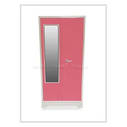 Arisa Steel Two Door Wardrobe