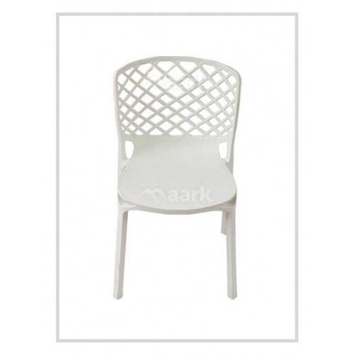Aristo Chair In White Colour