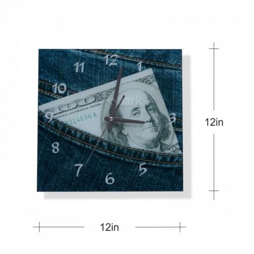 Jean Wall Clock