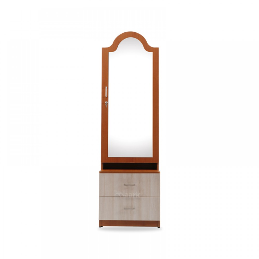 Big Arch Wooden with Glass Dresser