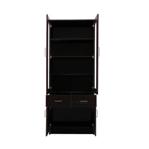 Wooden Bookshelf Two Door