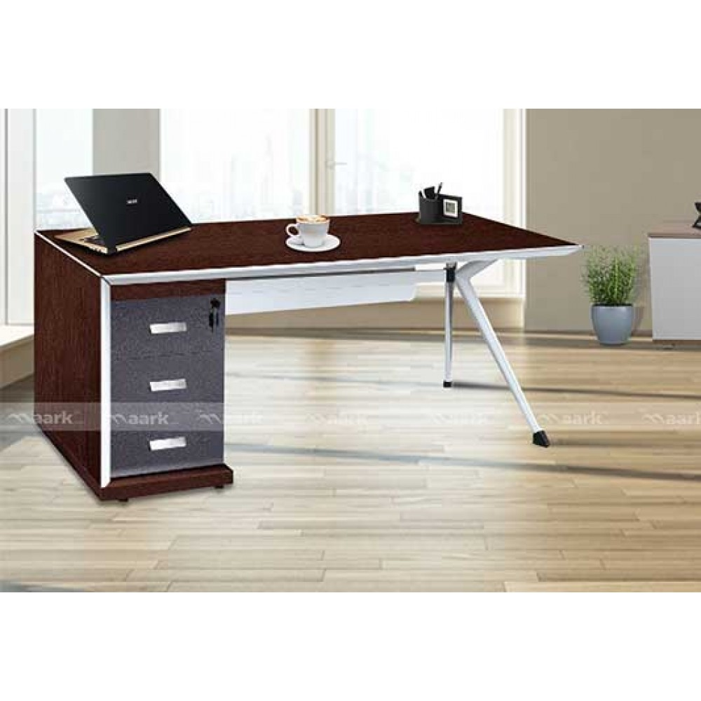 Brown Color Office Table