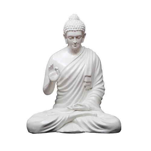 BUDHA STATUE WHITE