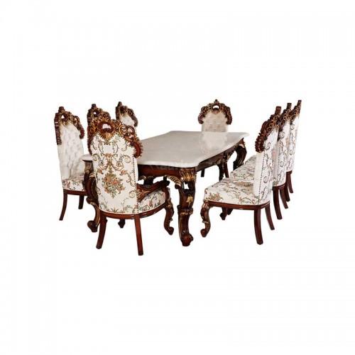 Bursha Teak Wood Dining Table