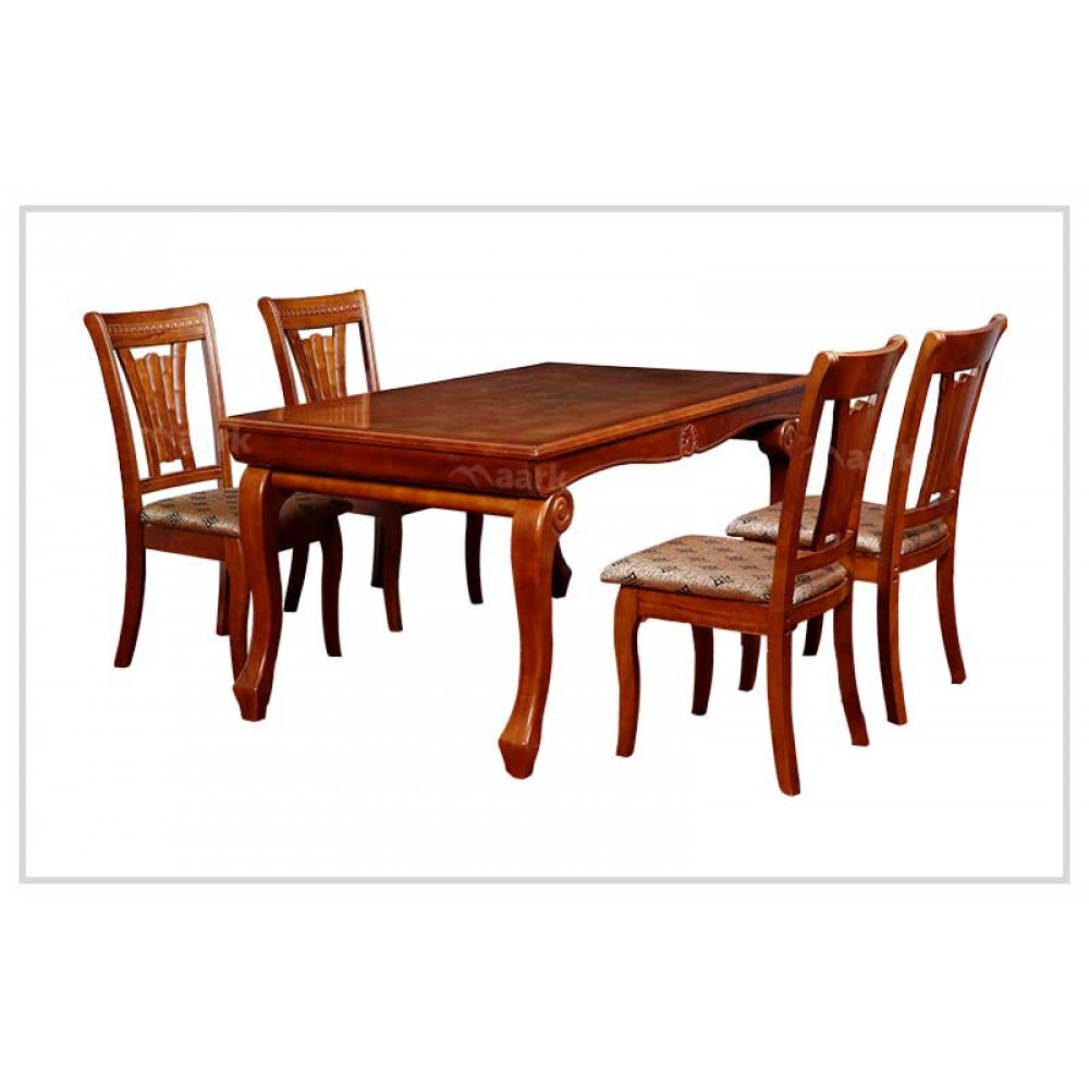 Cambrey Four Seater Wooden Dining Table