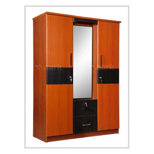Cambrey 3 DR Richbear Wardrobe With Dressing Table