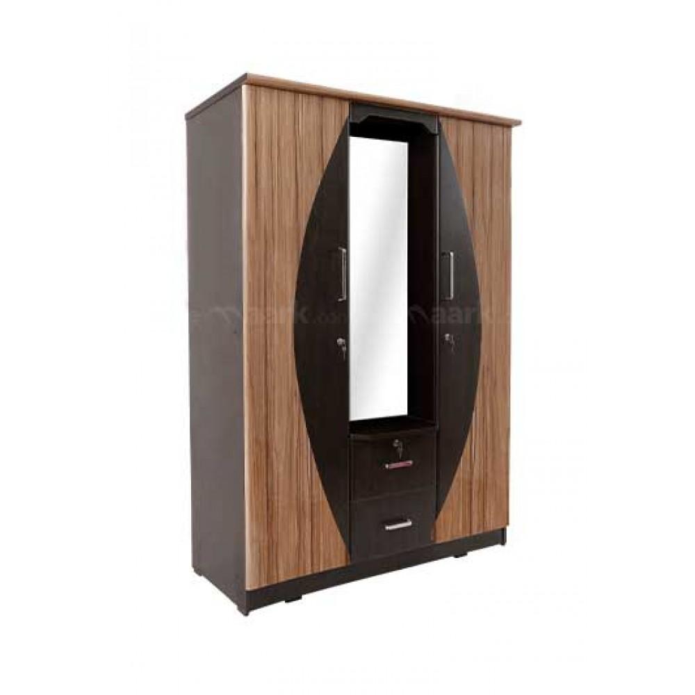 Classic Three Door Wardrobe with Dresser