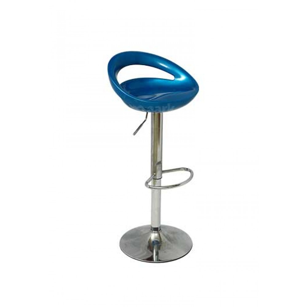 COMFORT SEATER BARSTOOL BLUE COLOR