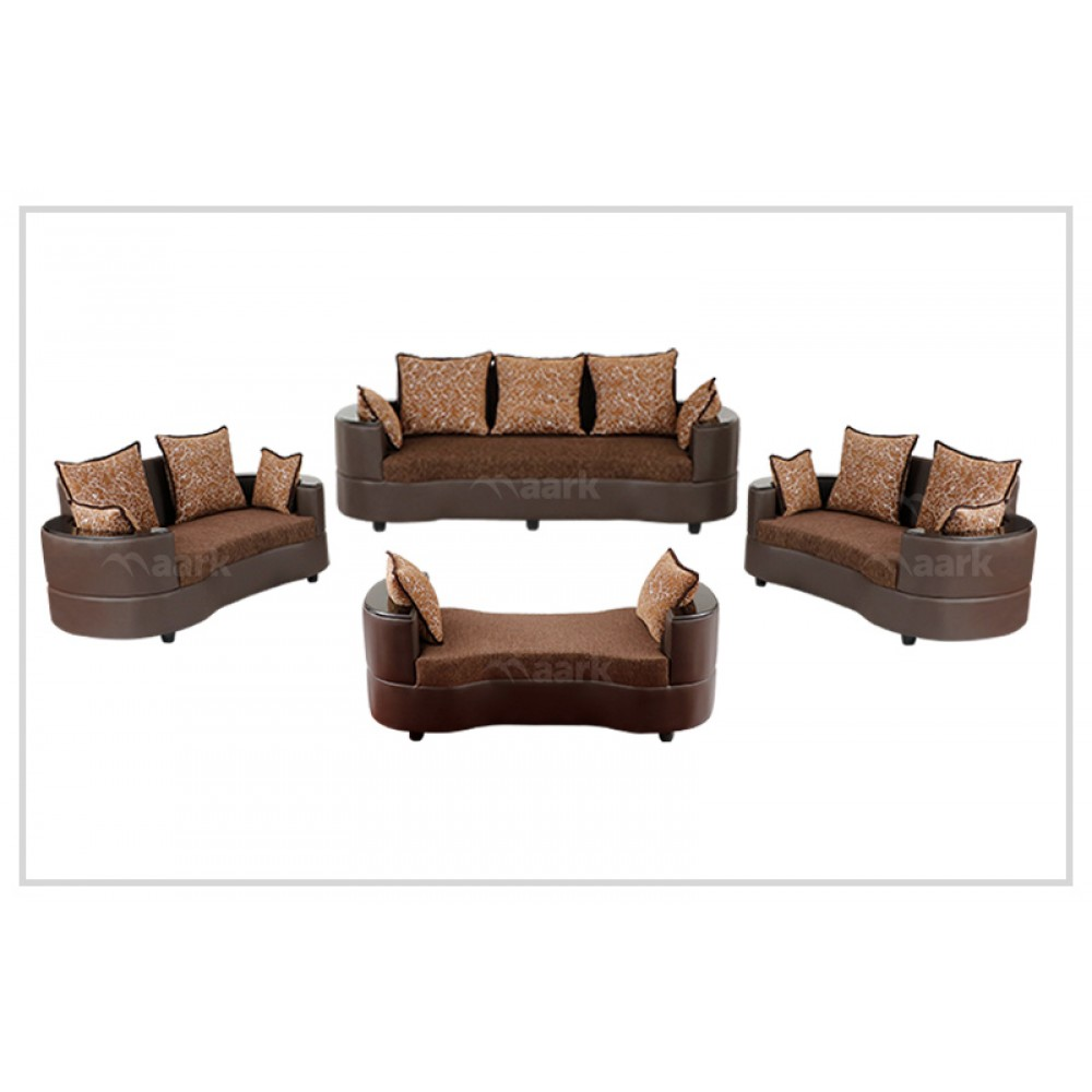 Croma Wooden Sofa 3+2+2 with Shetty