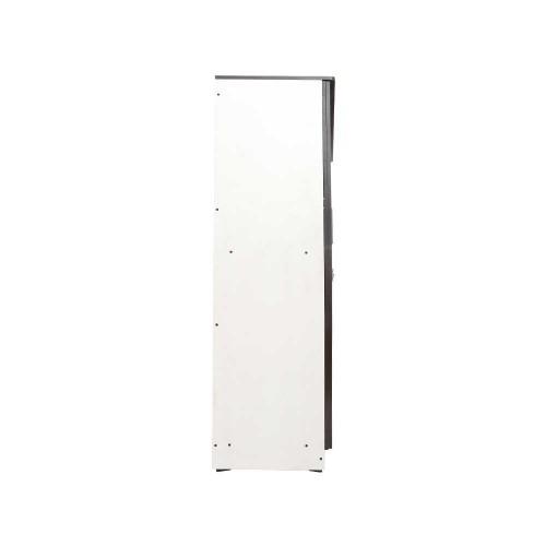 CURVE DESIGNED WOODEN TRIPLE DOOR WARDROBE