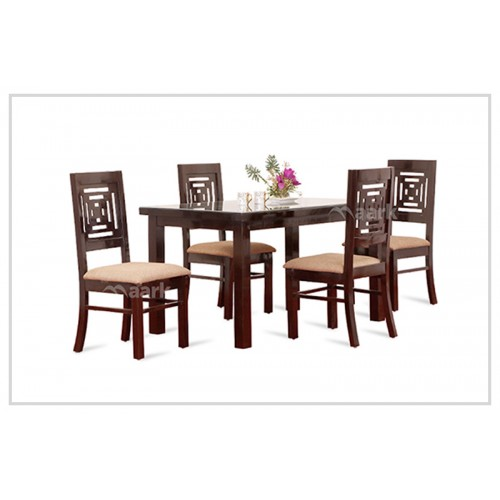 Daisy Four Seater Wooden Dining Table