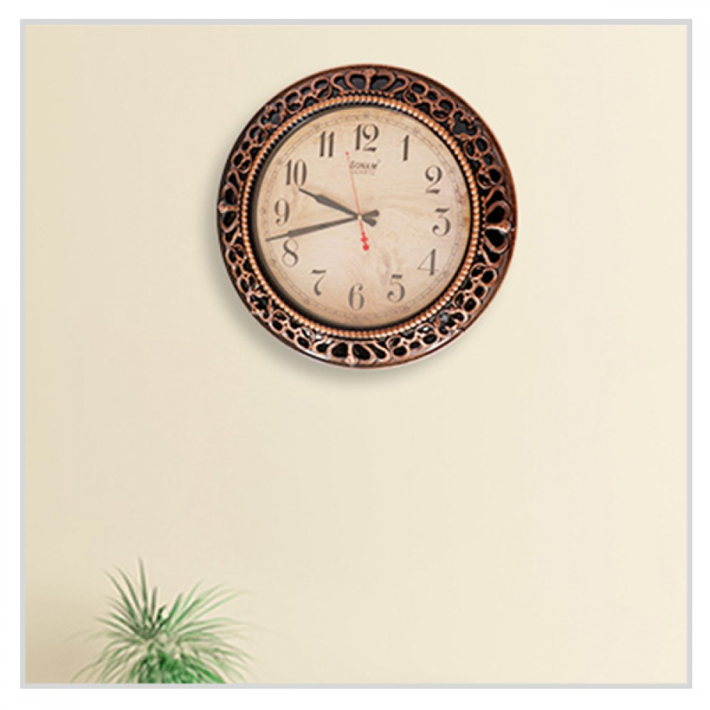 Classic Sonam Quartz Wall Clock