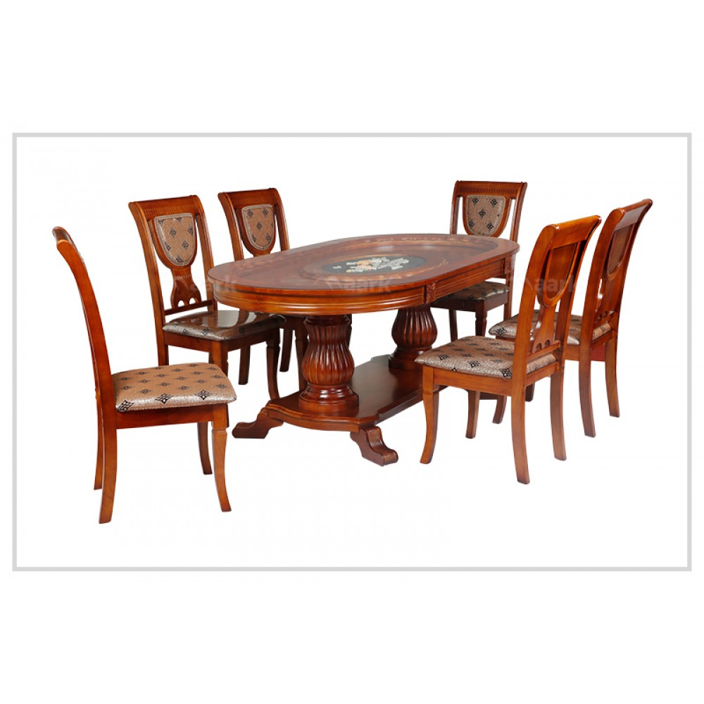Modern Six Seater Dining Table