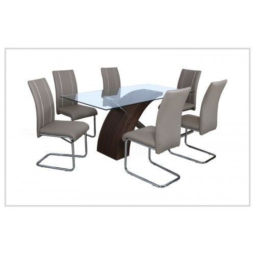 Combo Crystal Dining Table