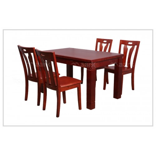 Four Seater Wooden Dining Table