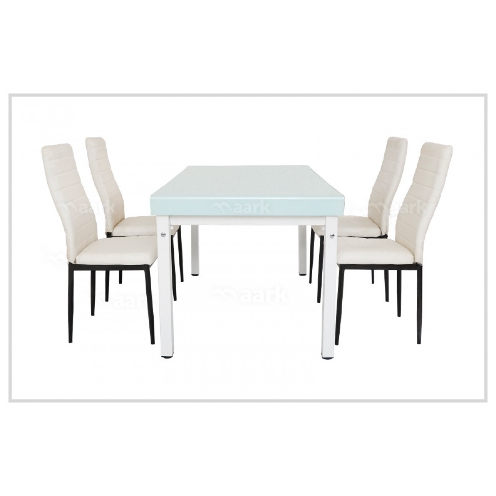 NS Bend Glass Dining Table