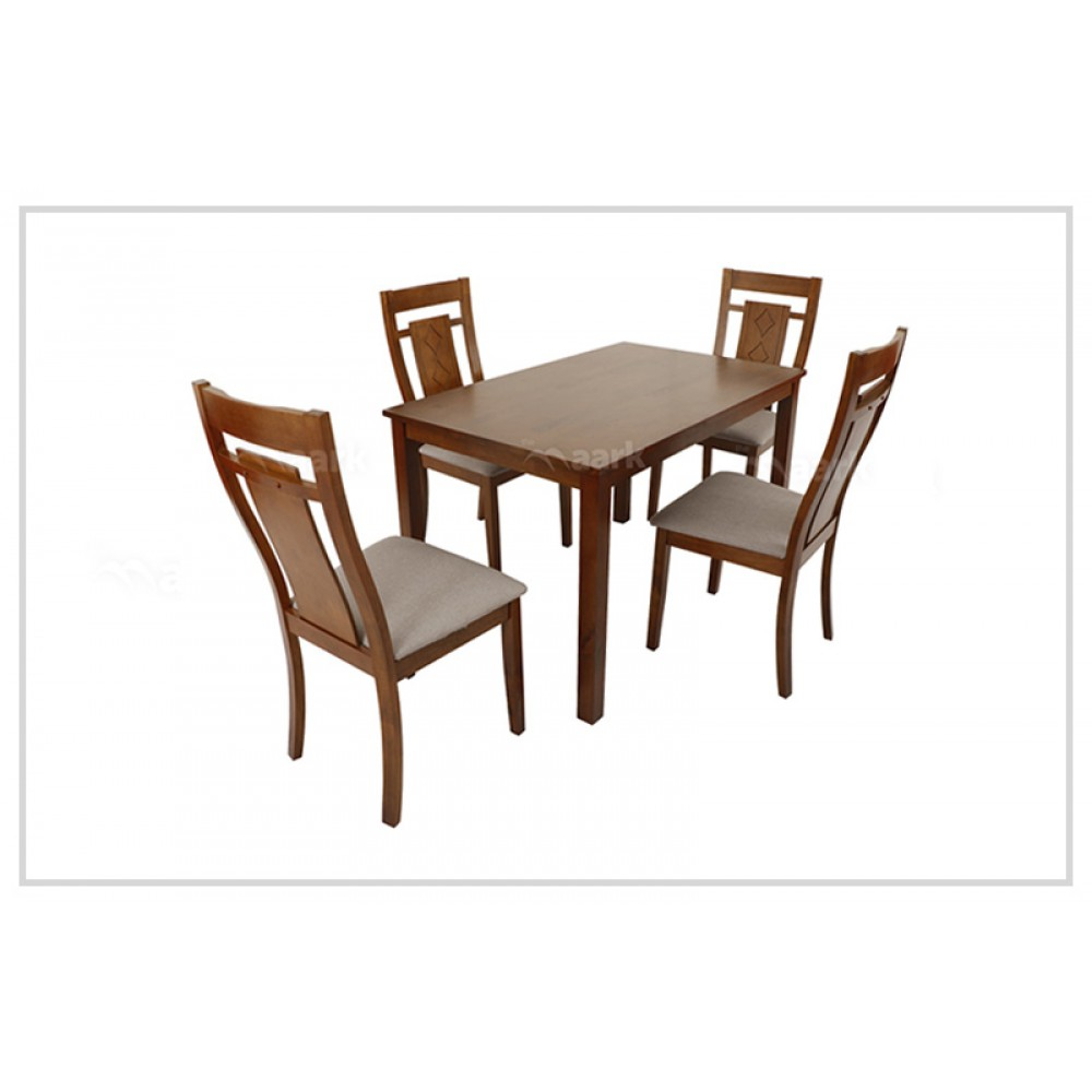 WX Jasmine  With Recto Wooden Dining Table
