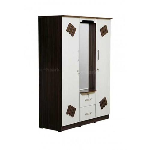 DISHA THREE DOOR WARDROBE