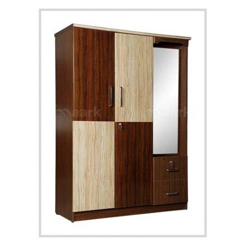 Cambrey 3 DR Wardrobe with Inner Dressing Table