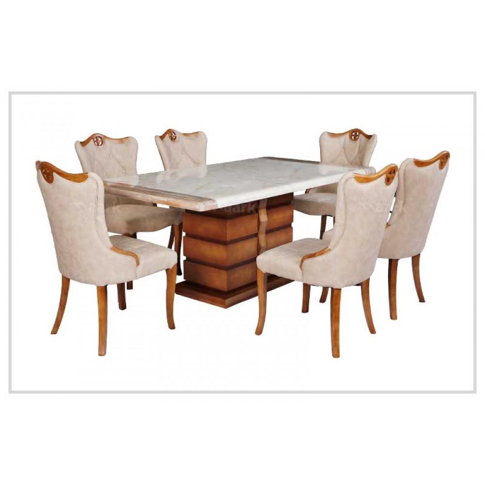 Elegant Marble Dining Table