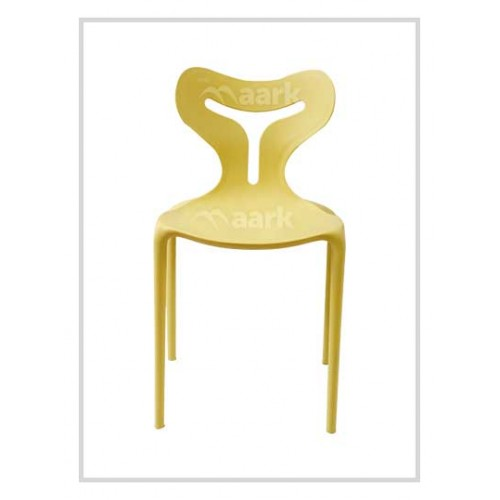 Evita Chair In Yellow Colour