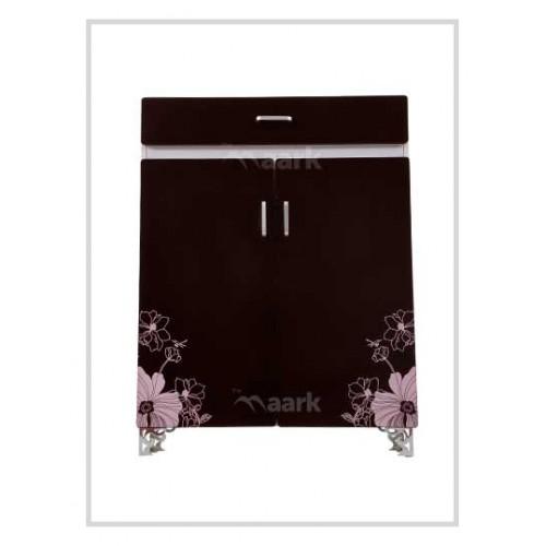 Flower Designed Shoe Cabinet
