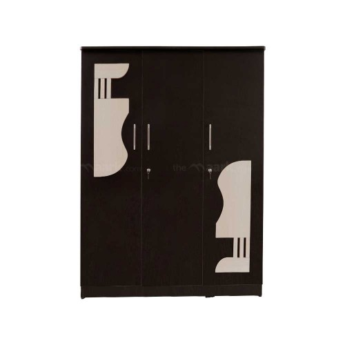 Guitar Three Door Wardrobe