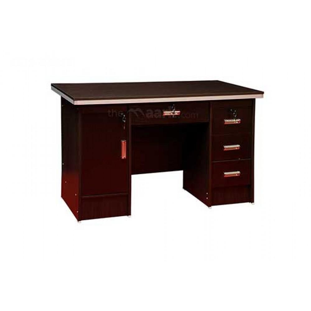 HT-OT-1.2-M123-O-WALLNUT OFFICE TABLE