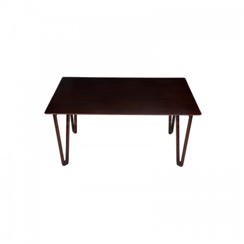 Huge Droplus Six Seater Wooden Dining Table