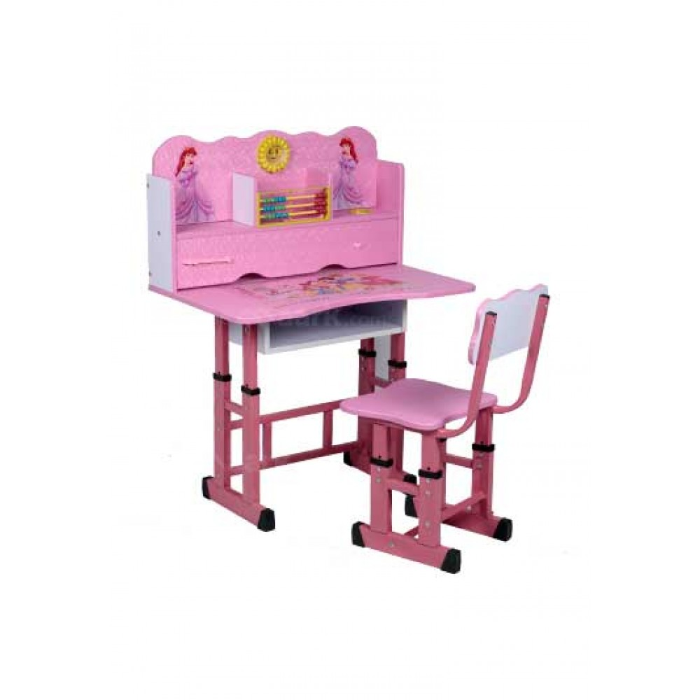 KIDS STUDY TABLE PING COLOR