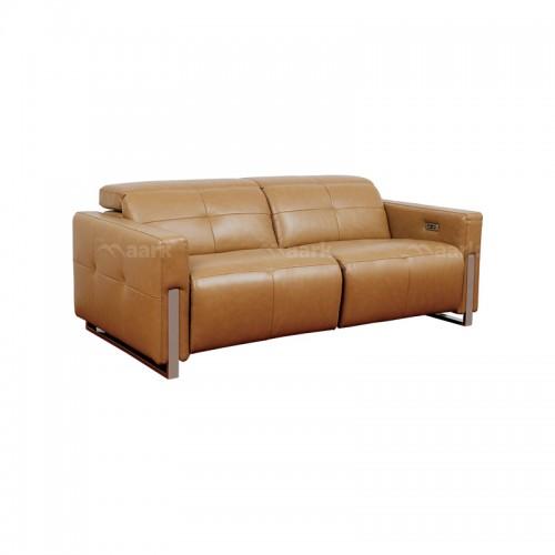 Lara Leatherette Motorized Recliner Sofa 2+2+1
