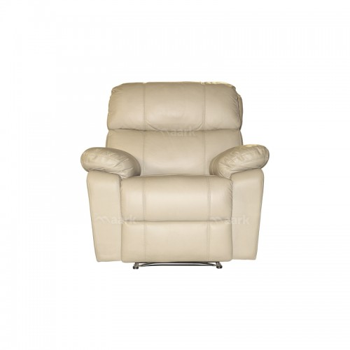 leatherette Manual Recliner Sofa