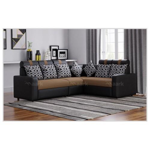 Magameru Combo Fabric Corner Sofa
