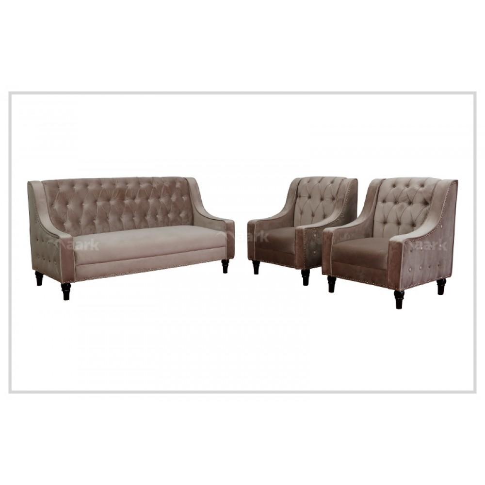 Panbu Fabric Sofa 3+1+1