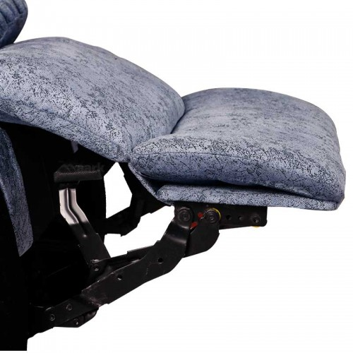 Panjavarnam Fabirc  Manual Recliner Sofa