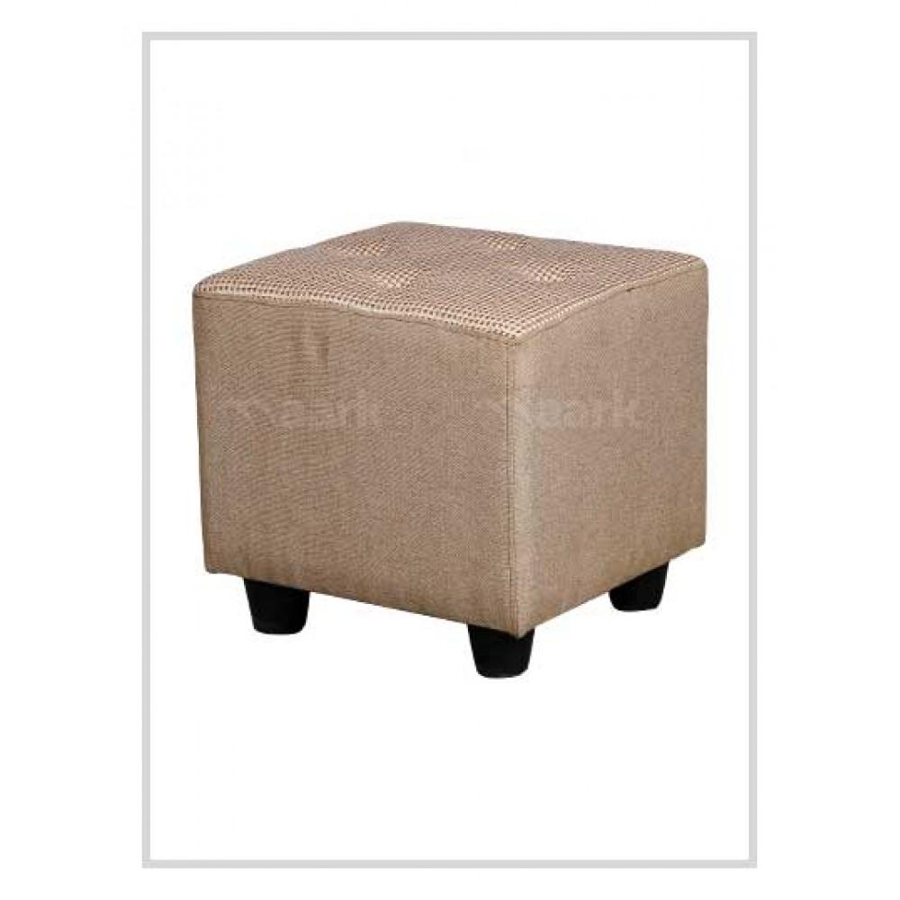 Square Puffy Sofa in Sandal Color