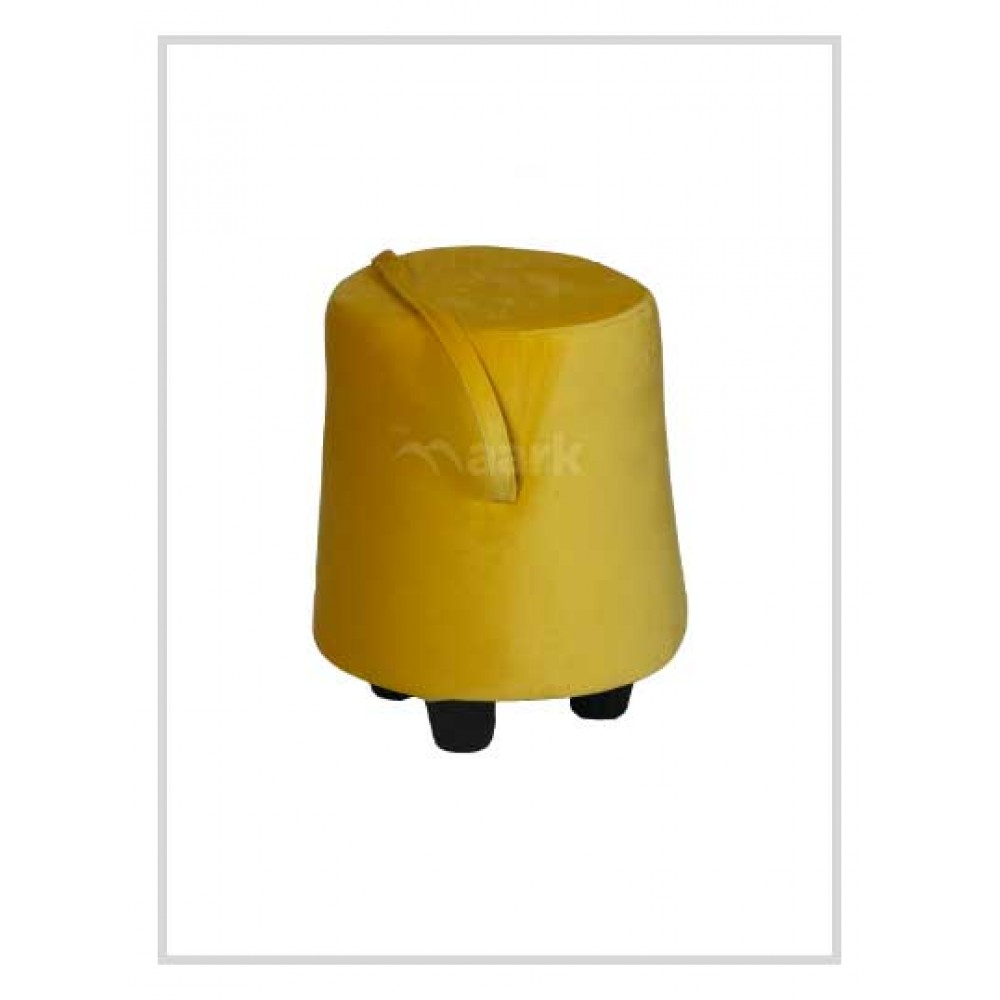 Puffy Stool in Yellow Color