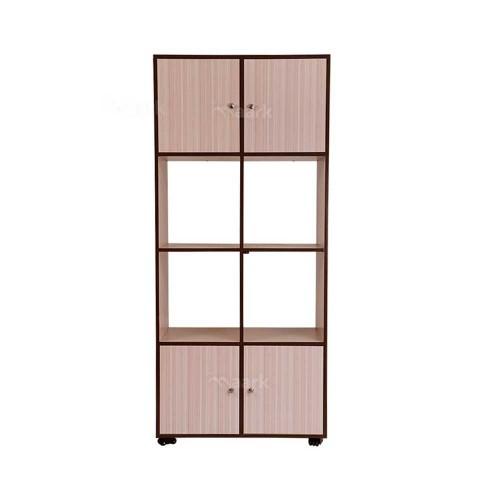 Sarva Wooden Bookshelf Sandal Color