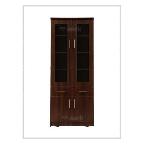 Simply Double Door Bookshelves