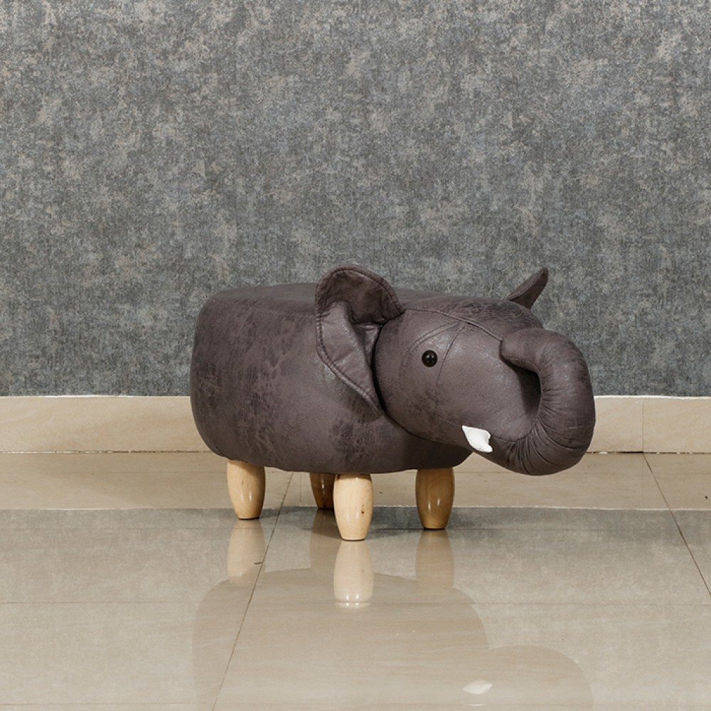 LUXOME PUFFY ELEPHANT (GRAY )