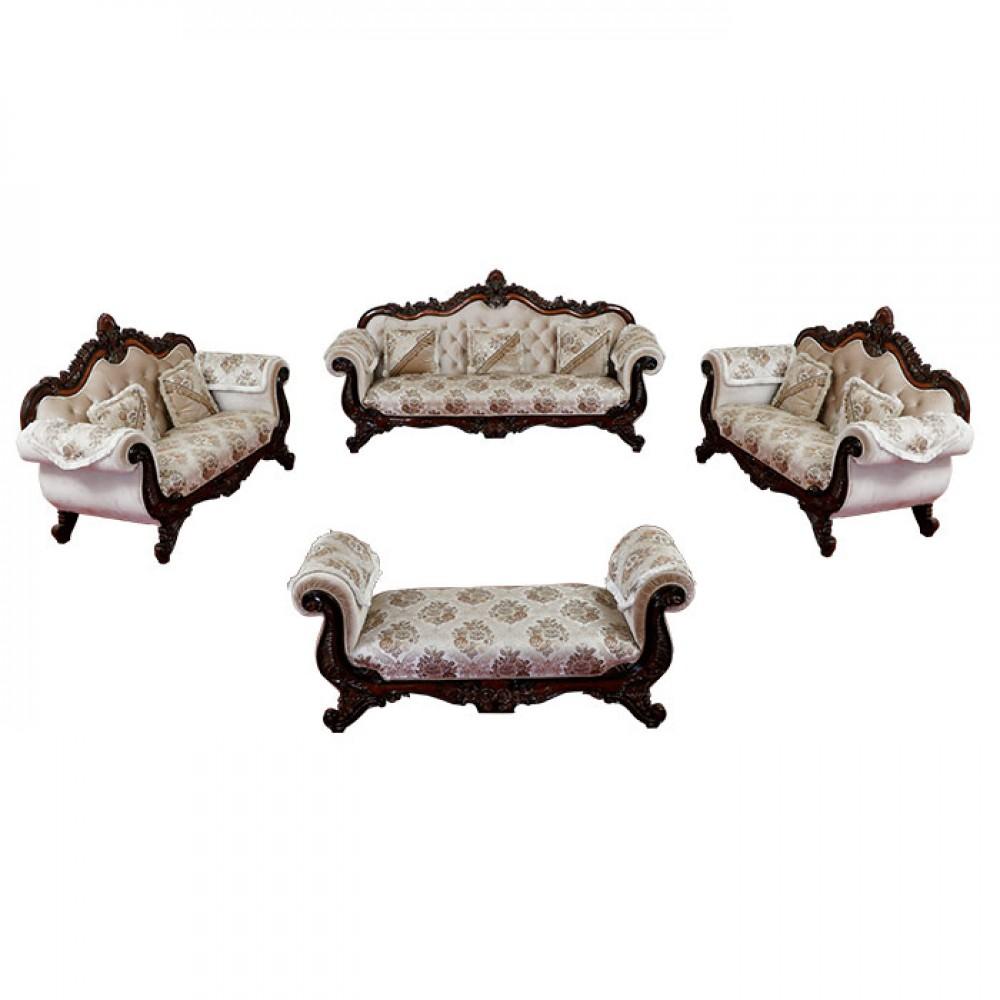 DL Teak wood Royal Sofa