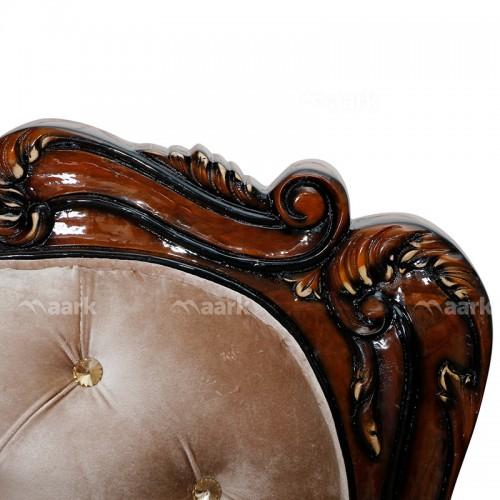 Dillwala Teak Wood Sofa