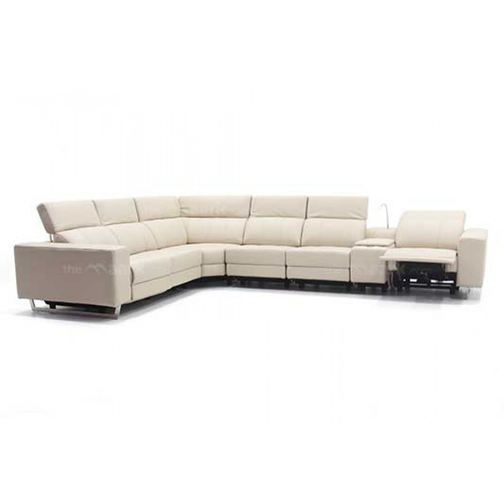Premium Leather Recliner Sectional Sofa Online Shopping in India