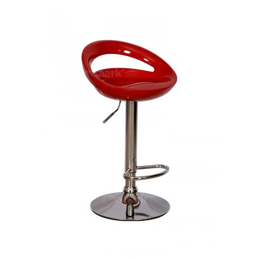 STYLISH ROUND BARSTOOL RED COLOR