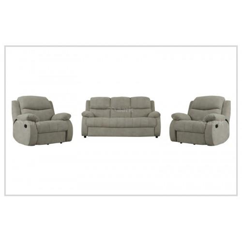 Sweden Whitey Recliner Sofa 3+1+1