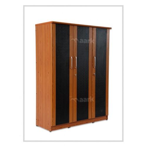 Three Door Premium Wooden Wardrobe