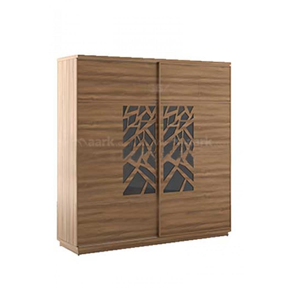 Trendly Sliding Wooden Wardrobe