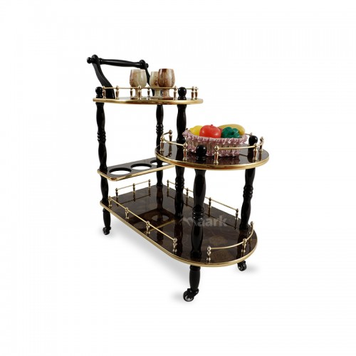 Trendly Wine Service Trolley