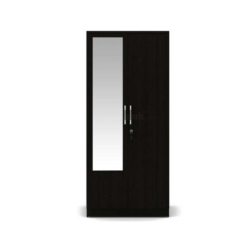 Kosmo Weave 2DR Wardrobe with Mirror
